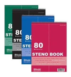 BAZIC #571 STENO BOOK, RULED
