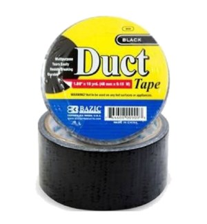 BAZIC #909 DUCT TAPE, BLACK
