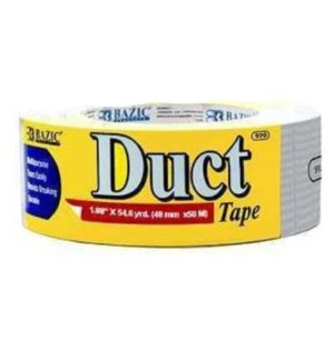 BAZIC #970 DUCT TAPE, SILVER