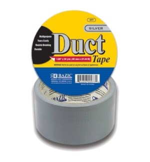 BAZIC #977 DUCT TAPE, SILVER