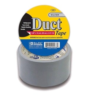 BAZIC #978 DUCT TAPE, SILVER