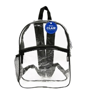 BAZIC #1011 BACKPACK CLEAR
