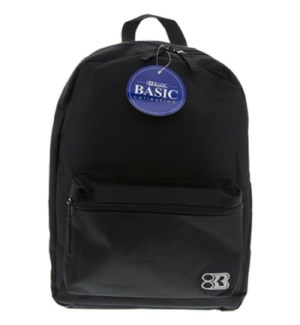 BAZIC #1030 BASIC BACKPACK, BLACK