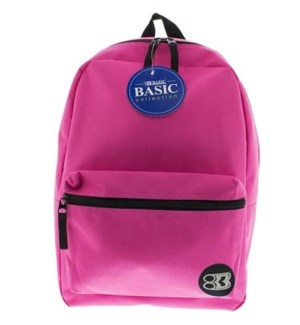 BAZIC #1036 BASIC BACK PACK, FUCHSIA