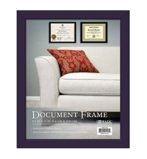 BAZIC #1405 DOCUMENT FRAME W/GLASS COVER
