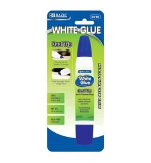 BAZIC #2018 WHITE GLUE, DUAL TIP