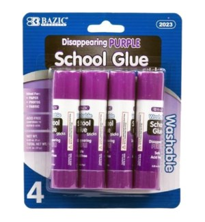 BAZIC #2023 PURPLE SCHOOL GLUE, WASHABLE