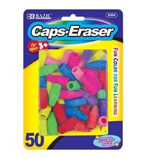 BAZIC #2204 NEON CAPS ERASER TOP
