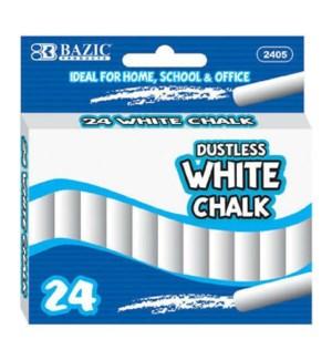 BAZIC #2405 WHITE CHALK, DUSTLESS