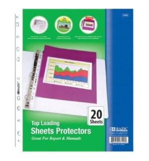 BAZIC #3102 SHEET PROTECTOR