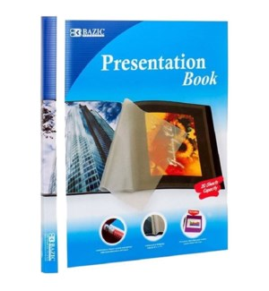 BAZIC #3129 PRESENTATION BOOK W/10-POCKET
