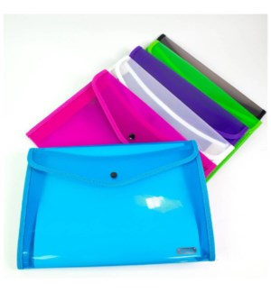 BAZIC #3166 DOCUMENT HOLDER CLEAR LETTER SIZE
