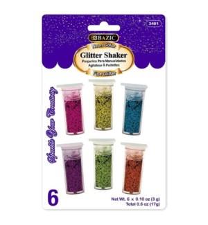 BAZIC #3481 GLITTER SHAKER NEON COLOR