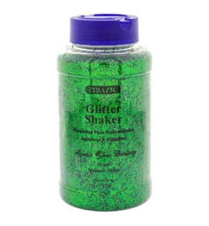 BAZIC #3493 GLITTER GREEN