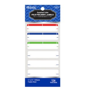 BAZIC #3811 FILE FOLDER LABELS