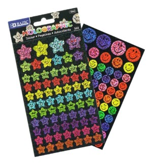 BAZIC #3865 REWARD STICKERS HOLOGRAPHIC