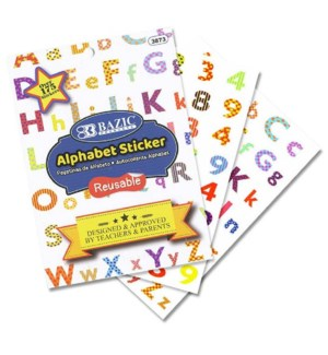 BAZIC #3873 ALPHABET/REWARD STICKERS