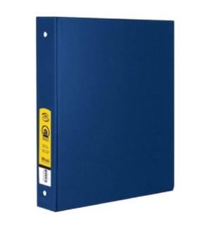 BAZIC #4114 3-RING BINDER, BLUE