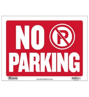 BAZIC #S-14 NO/PARKING SIGN