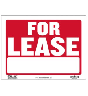BAZIC #S-9 FOR LEASE SIGN