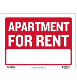 BAZIC #S-5 SIGN APARTMENT FOR RENT