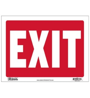 BAZIC #S-17 EXIT SIGN