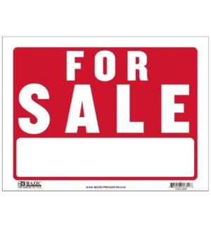 BAZIC #L-1 FOR SALE SIGN