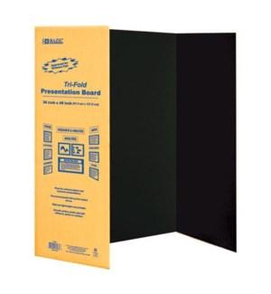 BAZIC #5034 BLACK TRI-FOLD BOARD    Z 5034