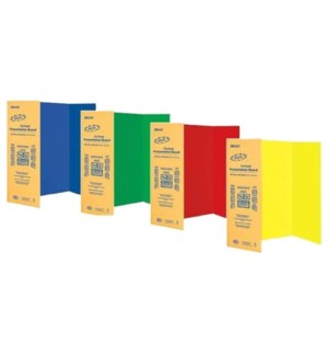 BAZIC #5035 COLOR TRI-FOLD BOARD    Z 5035