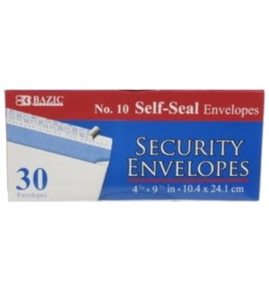 BAZIC #5068 LONG SECURITY ENVELOPE, SLEF