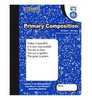 BAZIC #5087 PRIMARY COMOSITION BOOK