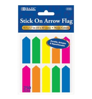 BAZIC #5155 ARROW FLAGS, NEON COLOR