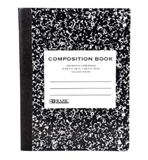 BAZIC #5511 COMPOSITION BOOK MARBLE