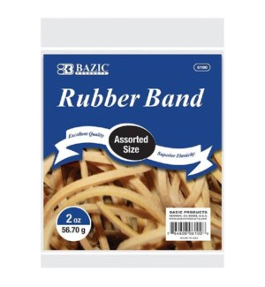 BAZIC #6100 RUBBER BAND, REG