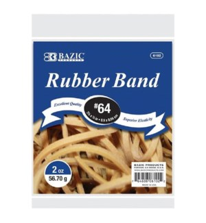 BAZIC #6102 RUBBER BAND #64