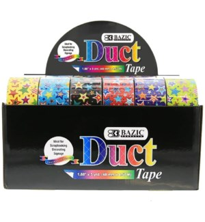 BAZIC #9001 DUCT TAPE, STAR SERIES