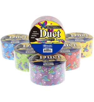 BAZIC #9003 DUCT TAPE, BUTTERFLY SERIES
