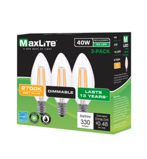 LED #88117 SOFT WHITE MAXLITE