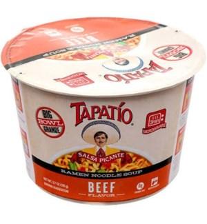 TAPATIO #10212 BEEF RAMEN BOWL