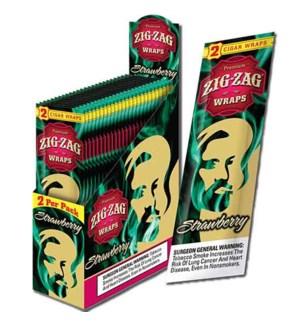 ZIG ZAG WRAPS - STRAWBERRY BASH