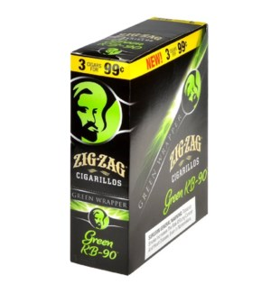 ZIG ZAG CIGARS/GREEN KB-90 PP.99