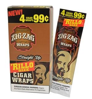 ZIG ZAG RILLO - STRAIGHT UP WRAPS