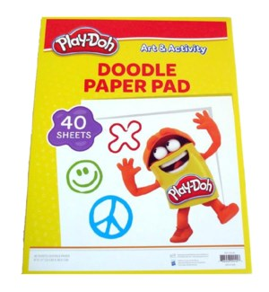 PLAY-DOH #09045 DOODLE PAPER PAD