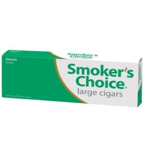 SMOKERS CHOICE CIG/M-100.GREEN