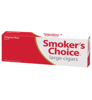 SMOKERS CHOICE CIG/FF-100 RED CIGGAR PP $1.49