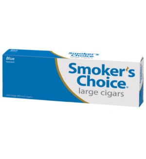 SMOKERS CHOICE CIG/L-100 BLUE PP $1.49