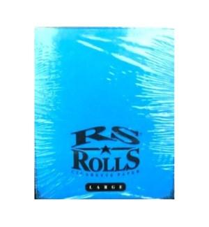 RS ROLLS CIG. PAPER-BLUE