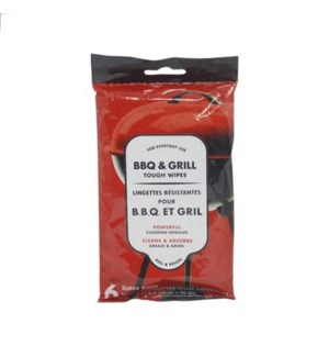 BBQ & GRILL TOUGH WIPES #381004