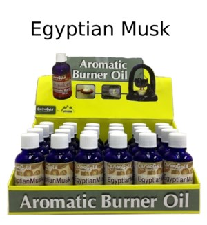 AROMATIC OIL-EGYPTIAN MUSK TYPE