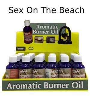 AROMATIC OIL-SEX ON THE BEACH